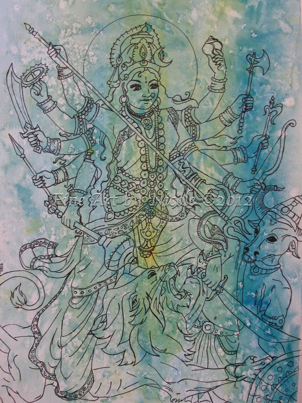 Beautiful Images Of Goddess Durga