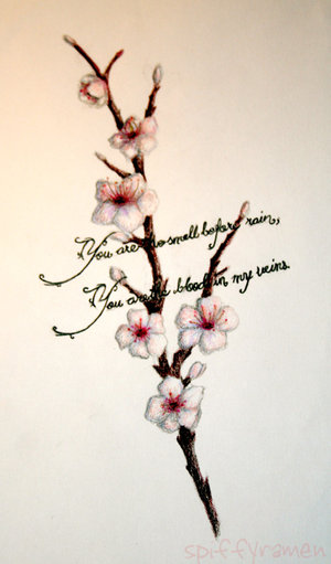 Chinese Cherry Blossom Tree Tattoo Meaning